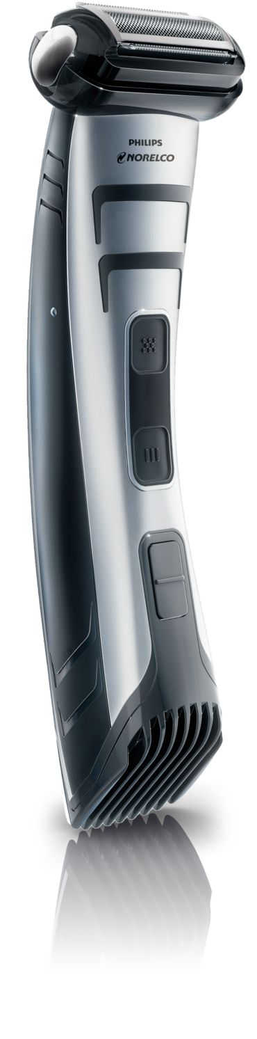 Philips Norelco Bodygroom 7100 Showerproof body groomer, Series 7000