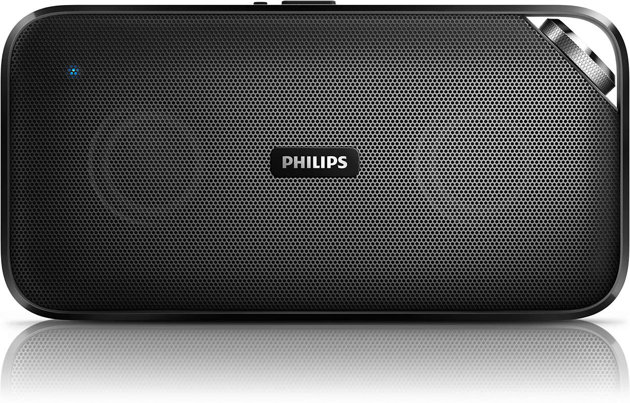 enceinte portable sans fil bt3500b 00 philips. Black Bedroom Furniture Sets. Home Design Ideas