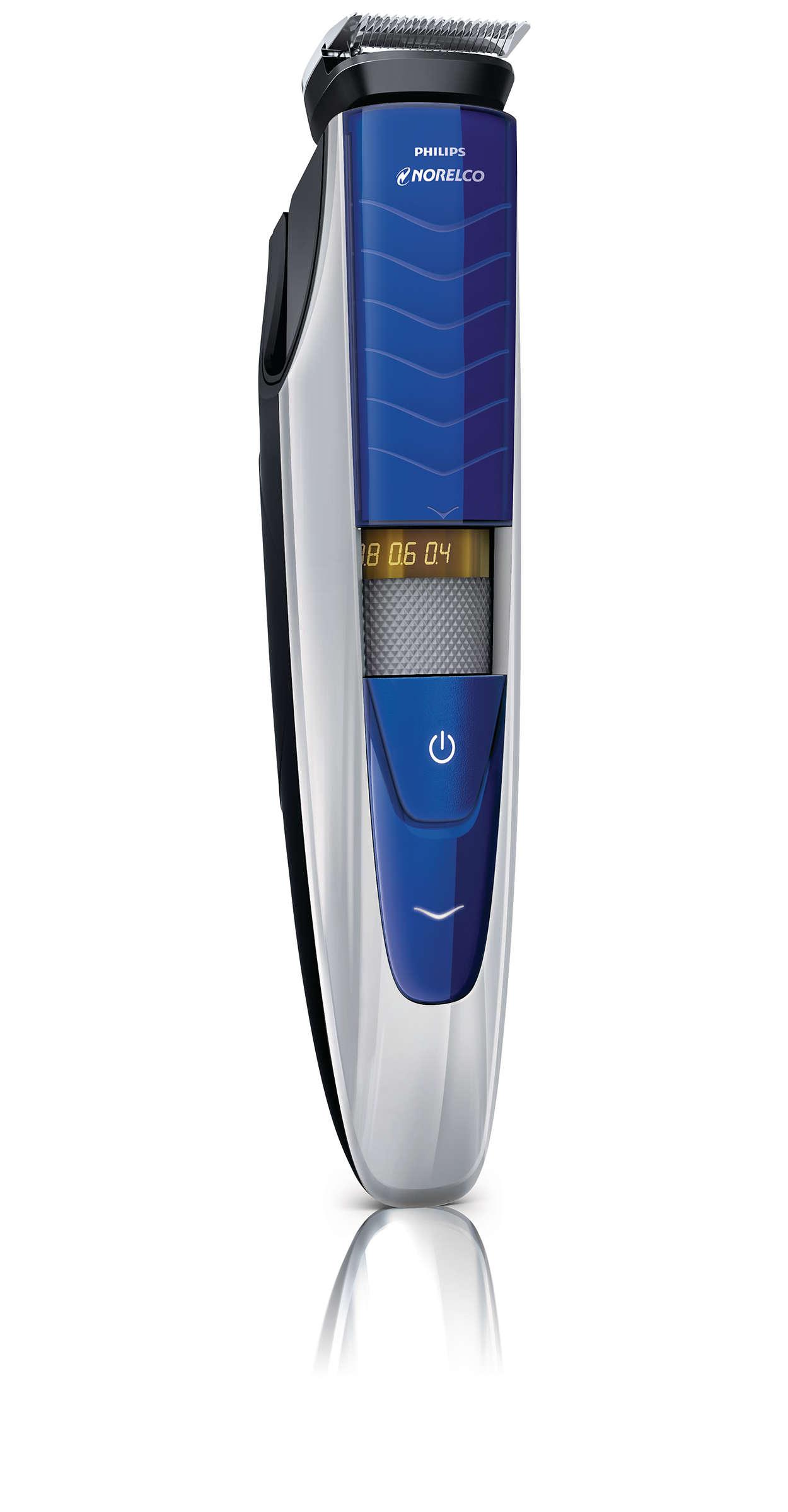 beardtrimmer 5100 wet dry beard trimmer series 5000 bt5275 41 norelco. Black Bedroom Furniture Sets. Home Design Ideas