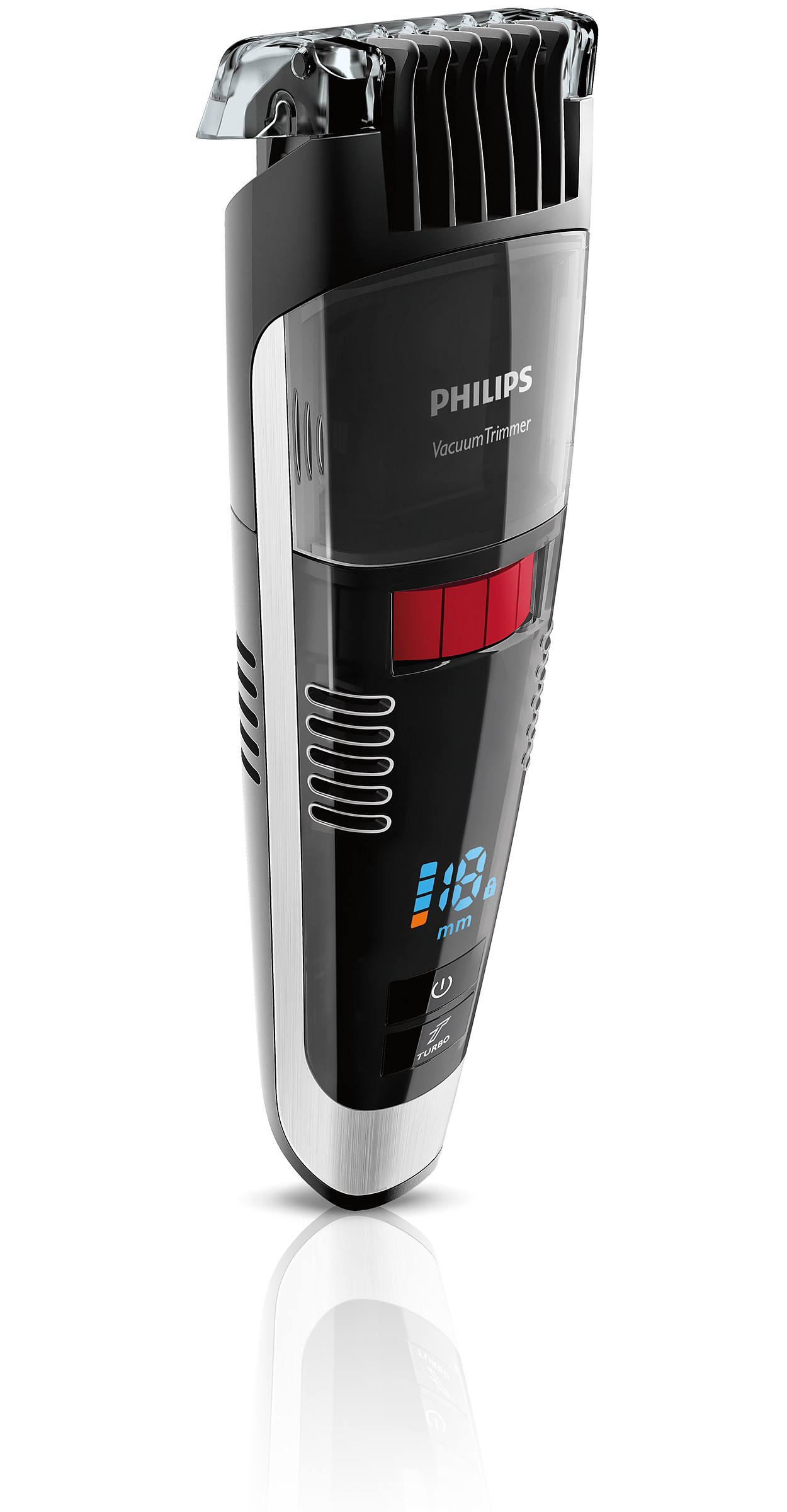 buy the philips beardtrimmer series 7000 vacuum stubble and beard trimmer bt7085 32. Black Bedroom Furniture Sets. Home Design Ideas