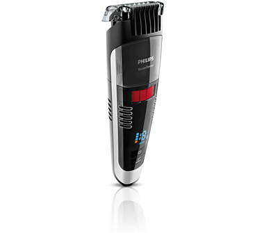 buy the philips beardtrimmer series 7000 vacuum stubble and beard trimmer bt7. Black Bedroom Furniture Sets. Home Design Ideas