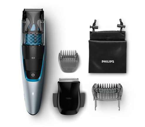 beardtrimmer series 7000 tondeuse barbe avec syst me d 39 aspiration bt7210 15 philips. Black Bedroom Furniture Sets. Home Design Ideas