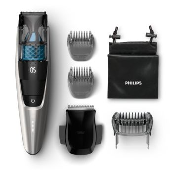0.5mm precision settings Vacuum Beard Trimmer
