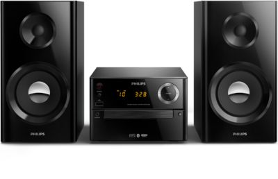 Philips Micro music system BTM2180 Bluetooth® CD, USB, FM 70W max