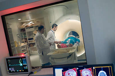 MRIs guiding surgeries