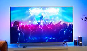 Philips TV i 7600-serien set forfra