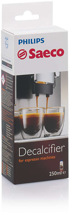 Perfect protection for your espresso machine