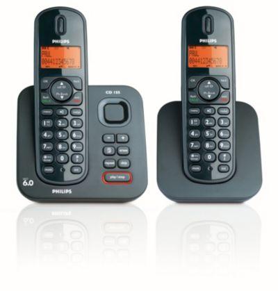 Philips gebruiksaanwijzing telefoon