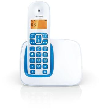 Philips  無線電話 1000 系列 CD1901WB/96