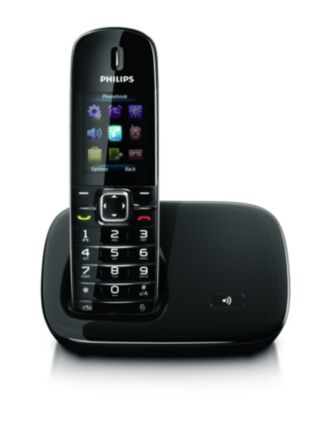 Philips  Cordless phone 6000-series CD6801B/90