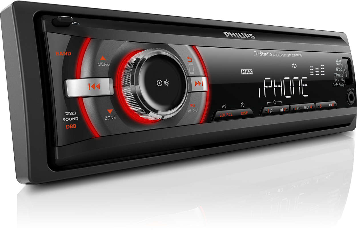 car audio system ce139dr 05 philips. Black Bedroom Furniture Sets. Home Design Ideas