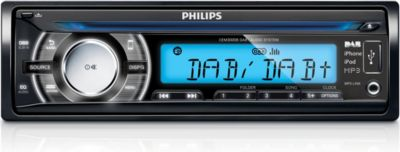 Philips Car audio system CEM3000B for iPhone and iPod DAB+ USB