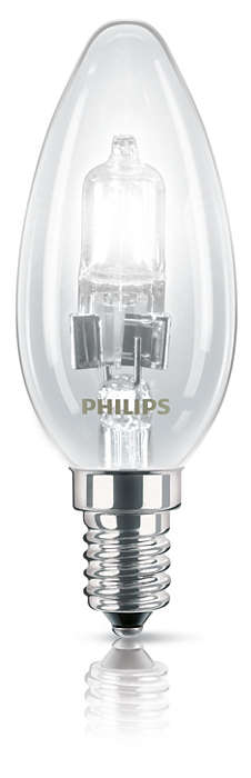 Halogen Classic Candle B35