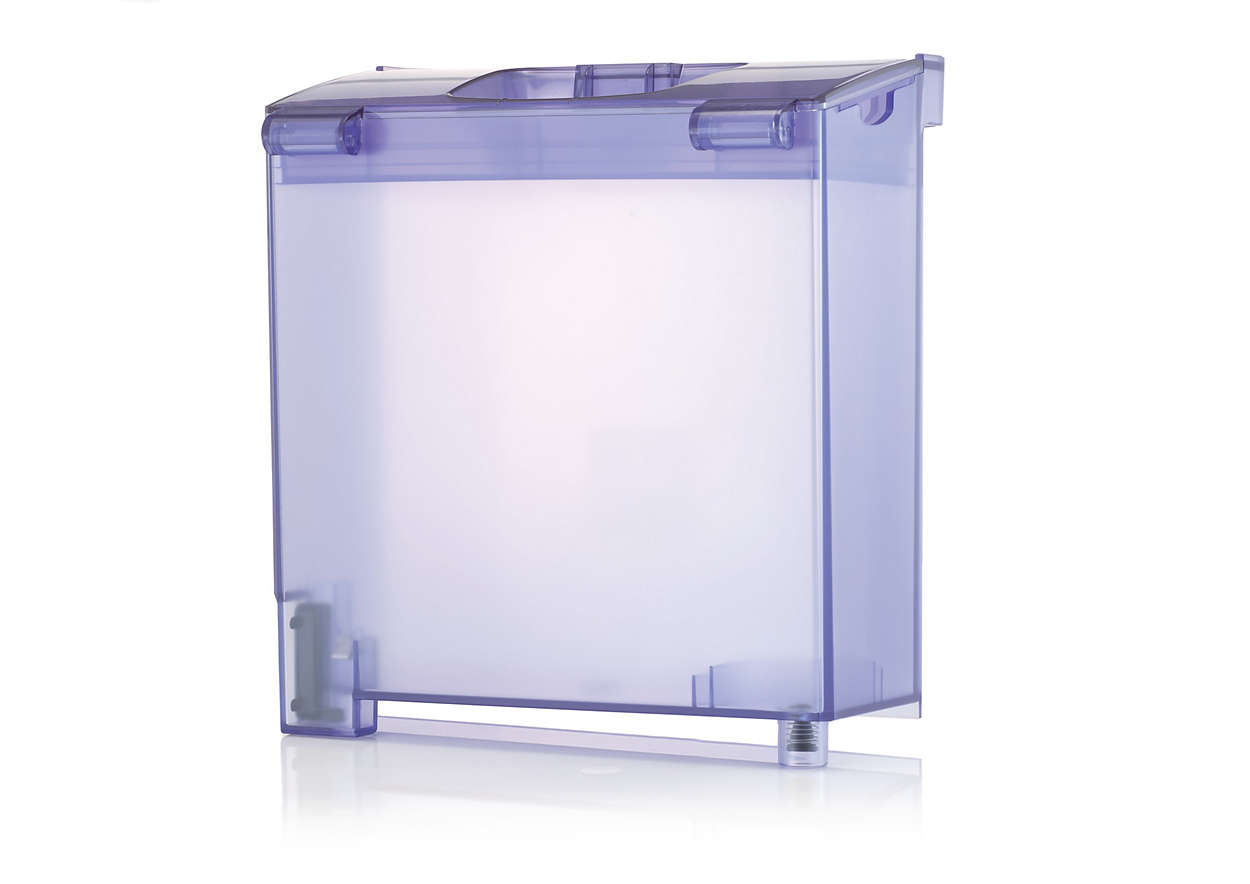 Water tank for your Wardrobe Care