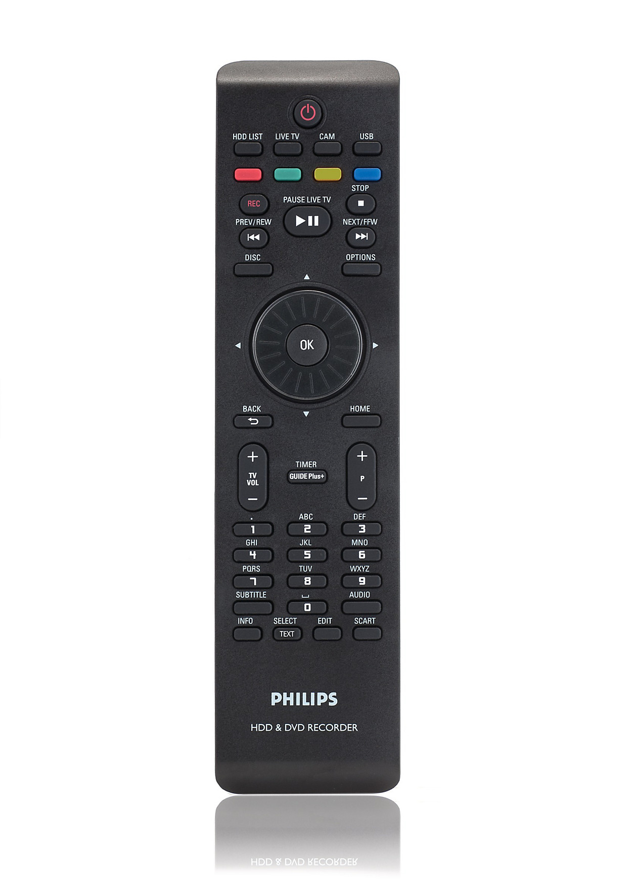 t l commande pour lecteur enregistreur de dvd crp642 01 philips. Black Bedroom Furniture Sets. Home Design Ideas