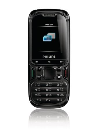 Philips  Mobile Phone E122 CTE122BLK/00