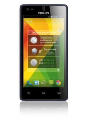 Philips Xenium Смартфон CTW737NAV W737 WCDMA/GSM, темно-синий