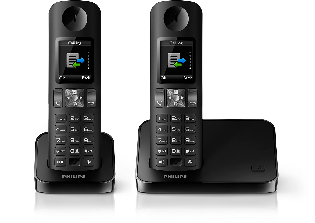 acheter le philips t l phone sans fil d6002b fr. Black Bedroom Furniture Sets. Home Design Ideas