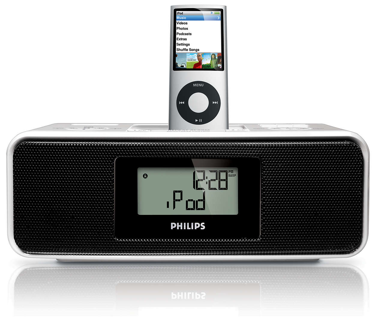 clock radio for ipod dc200 12 philips. Black Bedroom Furniture Sets. Home Design Ideas