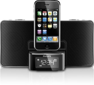 Philips  docking entertainment system dock for iPhone/iPod DC220/37