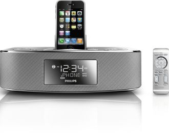 Philips  docking system for iPod/ iPhone Aluminium DC290/37