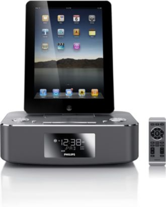 Philips  dockningssystem för iPod/iPhone/iPad Aluminium DC291/12
