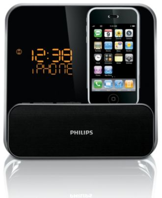 Philips  docking entertainment system dock for iPhone/iPod DC315/37