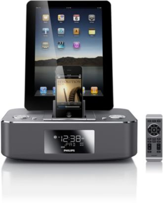 Philips  docking station for iPod/iPhone/iPad Aluminium DC390/37