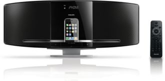 Philips  Slank micro-muzieksysteem station voor iPhone/iPod DCB293/12