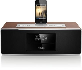 Philips  Micro music system Dock for iPod/iPhone/iPad DCB852/79