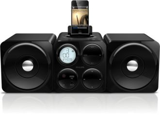 Philips  Cube micro sound system Dock for iPod/iPhone DCM1075/98