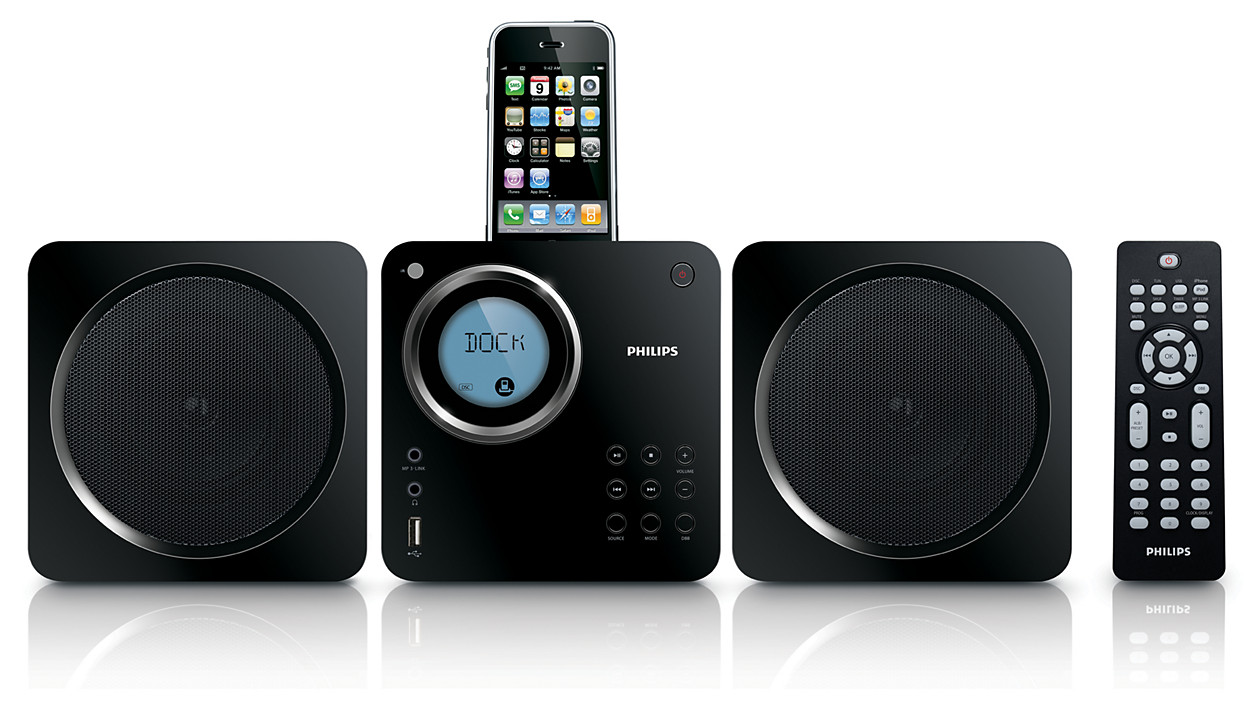 Buy The Philips Cube Micro Sound System Dcm109 37