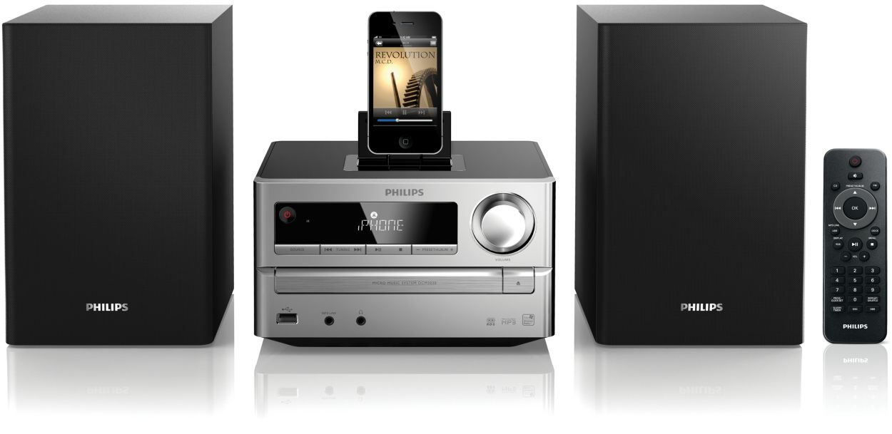 Buy The Philips Micro Music System Dcm2020 05