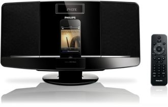 Philips  Micro music system Dock for iPod/iPhone DCM2055/37