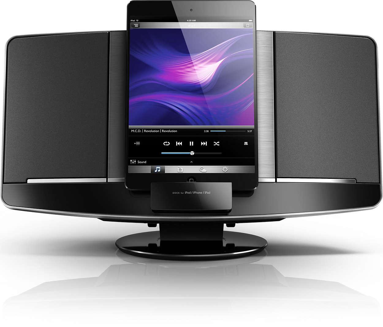 mini stereoanlage dcm2068 12 philips. Black Bedroom Furniture Sets. Home Design Ideas