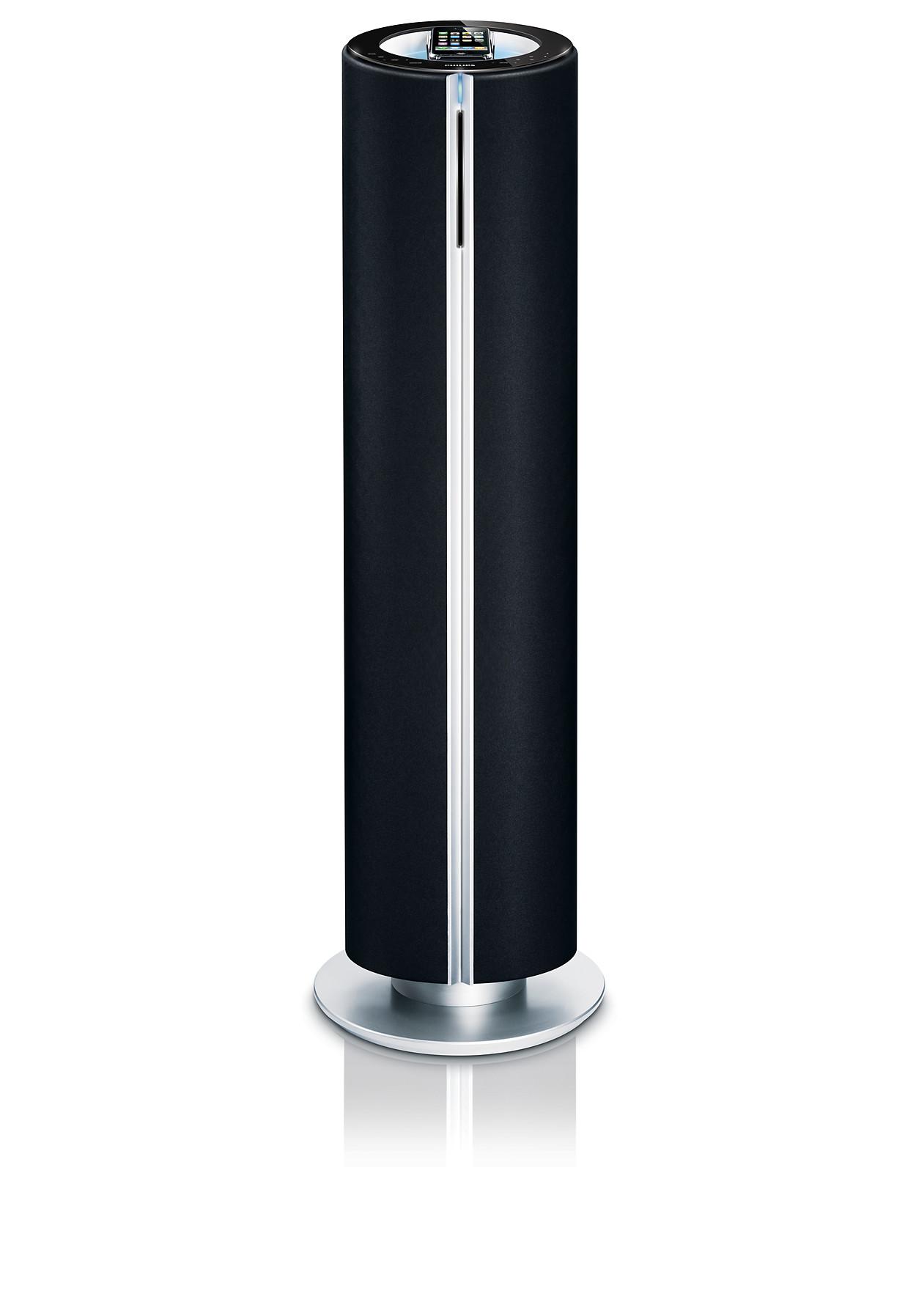 station d 39 accueil pour ipod iphone dcm580 12 philips. Black Bedroom Furniture Sets. Home Design Ideas