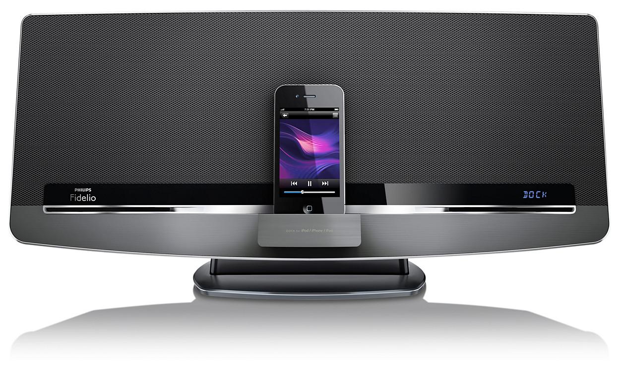 kabelloses soundsystem dcw8010 10 fidelio. Black Bedroom Furniture Sets. Home Design Ideas