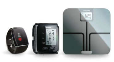 Handgelenk-Blutdruckmessgerät mit Bluetooth® Smart