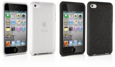 Twee siliconenhoezen voor iPod touch