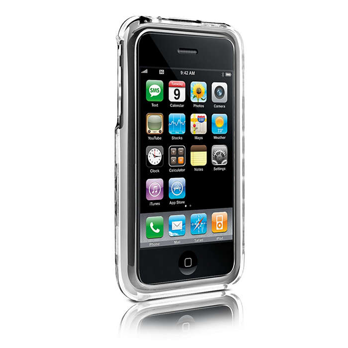 Protect your iPhone in a clear shell