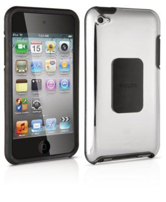 Harde hoes met siliconen voor iPod touch