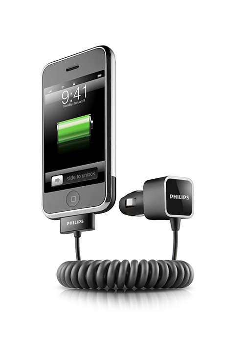 Charge iPhone on the road
