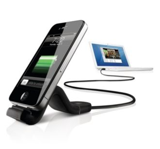 Philips  Sync & Charge Cable for iPhone & iPod DLC2407BLK/17
