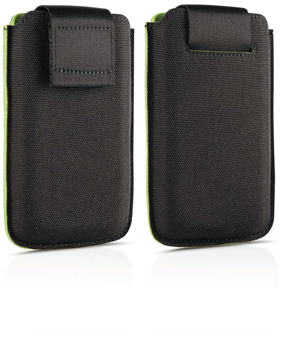 Protect you phone in a slim pouch