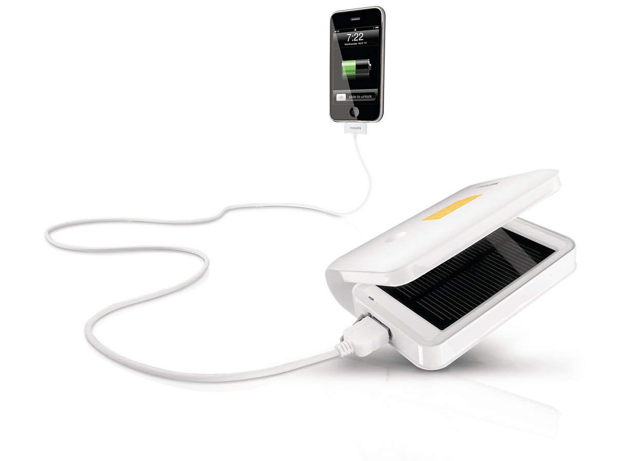 Stay charged with solar