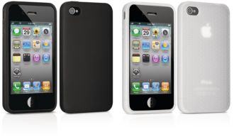 Philips  Two silicone cases for iPhone 4, 4S DLM4313/17