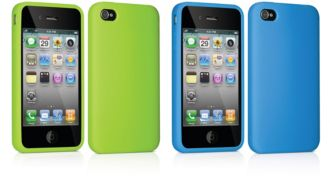 Philips  Two silicone cases for iPhone 4, 4S DLM4340/17