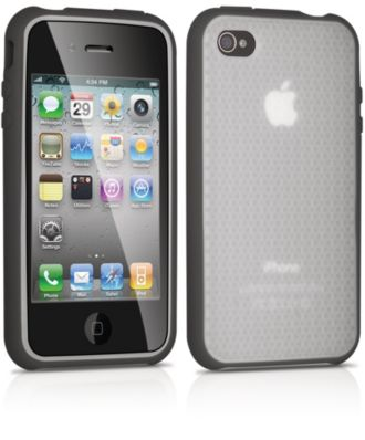 Philips  Silicone bumper case for iPhone 4, 4S DLM4347/17
