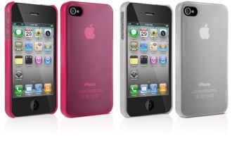 Philips  Two hard-shell cases for iPhone 4, 4S DLM4389/17