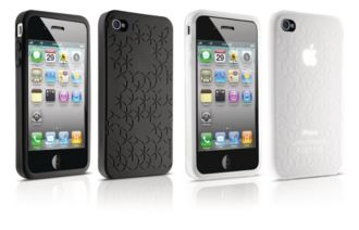 Philips  Two silicone cases for iPhone 4, 4S DLM6328/17
